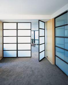 Steel and Glass Doors
