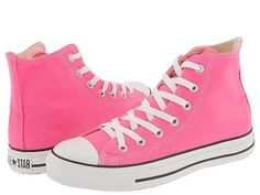 Amazon.com: Converse Chuck Taylor All Star Shoes (M9006) Hi Top in Pink: Shoes