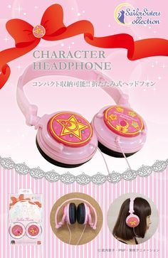 Official Sailor Moon headphones! Info and shopping links here http://www.moonkitty.net/reviews-buy-sailor-moon-earphones-headphones.php