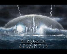 Atlantis in a storm - stargate-atlantis Wallpaper