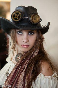 Steampunk:  Steampunk Woman.