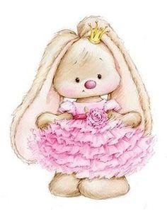 Cute Pink Bunny Png Clip Art Image 211 Voda Kindergarten