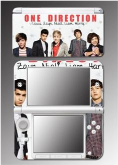 One Direction Liam Niall Louis Harry Zayn Video Game Vinyl Decal Cover Skin Protector 32 for Nintendo XL -------------------------------- Games 24 Hour Deals Buy Five Star Products With Up To Discount One Direction Merch, I Love One Direction, One Direction Accessories, Mario 3ds, Ds Xl, Baby Apps, Nintendo Dsi, Louis And Harry, 1d And 5sos