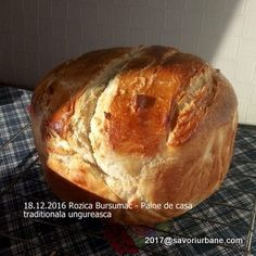 Paine de casa traditionala ungureasca | Savori Urbane Pastry And Bakery, Bread, Cabana, Food, Bread Baking, Brot, Essen, Cabanas, Baking