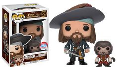NYCC 2016 Wave 5 - Pop! Disney: Pirates of the Caribbean – Barbossa w/ Monkey