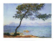 Antibes Kunstdruck von Claude Monet bei AllPosters.de