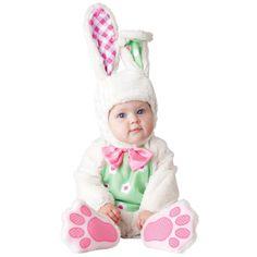 INCHARACTER COSTUMES REF: 6047 CONEJITA BEBE Incluye traje especial para que cambies el pañal de tu bebe fácilmente, gorrito con orejas y botines antideslizantes. PRECIO COLOMBIA: 150.000