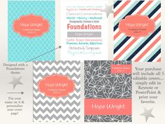 This 2016-17 student planner will help keep you and your CC Foundations student organized all year long. This listing is for the Teal and Salmon colors…check out our other planner listings for more color options.  PRINTABLE PLANNER... NO PHYSICAL ITEM WILL BE MAILED TO YOU. PLEASE READ ALL INSTRUCTIONS CAREFULLY. Please note: this planner does not include the specific CC Memory Work topics. That information is copyrighted by CC. Space is included for this information to be filled in using…