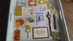 Stampin' Up! ... handmade cards ...  found on JennysArt blog ... conventions swaps from Brussels ...