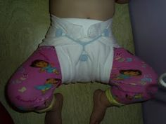T-Shirt Diapers (Emergency Diapers)