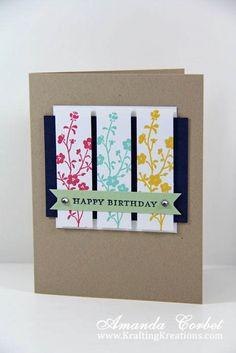 Krafting Kreations: A Floral Birthday