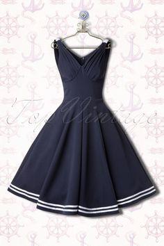 Miss Candyfloss Carol May Sailor Swing Dress 102 31 14885 20150221 0008Haakje