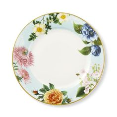 Spring Garden Dinner Plates Set of 4 #williamssonoma  sc 1 st  Pinterest & Apilco Reglisse Dinner Plates Set of 4 Black | Ceramics ...
