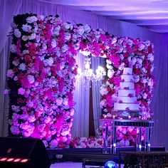 Floral wall for wedding reception Perfect Love, Wedding Receptions, Floral Wall, Floral Wedding, Flower Wall