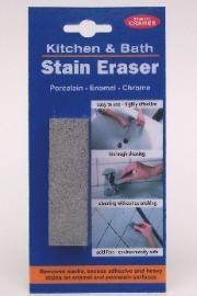 Works on chrome! And enamel! Soft Stain Removal of Lime, Rust & Dirt in Enamel Bathtubs & on Tiles via @retrorenovation