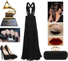 """""""2013 Grammy Awards"""" by belinha-figueiredo ❤ liked on Polyvore"""