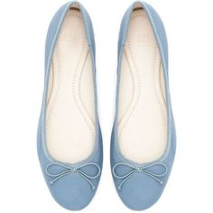 Collection featuring Nivea Lip Treatments, Vero Moda Tops, and 98 other items Leather Ballet Shoes, Leather Flats, Flat Shoes, Real Leather, Zara Flats, Zara Shoes, Ballerina Shoes, Prom Shoes, Pretty Shoes