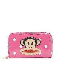 Pink (Pink) Paul Frank Pink Patent Julius Wallet | 259109770 | New Look