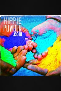 Hippie Powder. Washable. Non-toxic. Could be used for games, night event, etc