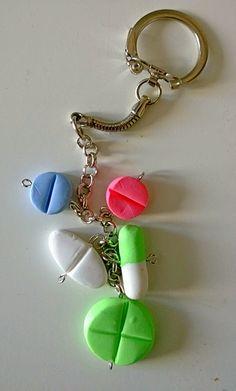 Mummin vuodenajat: FIMO-avaimenperät