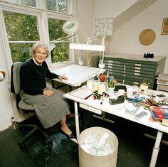 Children's Illustrators: Artists' Artist: Children's Illustrators - Judith Kerr ... never too old!