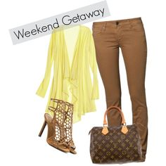 """Weekend Getaway"" by byferial on Polyvore"