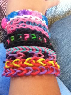 Shadowhunters//ship//shamballa style friendship bracelets