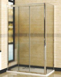 Душевой уголок RGW Classic CL-40 (1160-1210)х800 профиль хром, стекло шиншилла купить в магазине Сантехника-онлайн.Ру