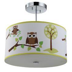Owl Ceiling Light
