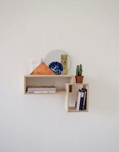 Daily Gems Wall Cabinet by Studio SZ + LileSADi