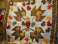 canadian maple leaf quilt pattern - Google Search