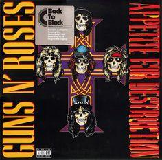 Guns N' Roses - Appetite For Destruction (LP)
