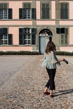 Tulle & Pompons au Château de Coppet - The Pastel Project Blog