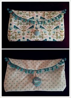 Pochette réversible made by me