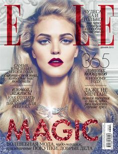 Cover - Best Cover Magazine  - Elle Russia December 2013   Best Cover Magazine :     – Picture :     – Description  Elle Russia December 2013  -Read More –