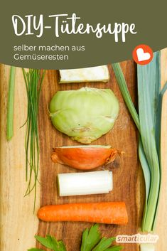 Gemüsereste einfach verwerten Do you have some kohlrabi or one carrot too much? With this trick you plan ahead and produce your own healthy instant … Zucchini Chips, Pet Cremation Urns, Health Logo, Refreshing Drinks, Consciousness, Celery, Cucumber, Cravings, Carrots