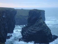 cliffs   PICTURES » Cliffs at Kilkee