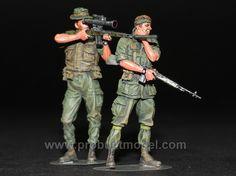 US Sniper Team in Vietnam war 1:35 - Pro Built Model