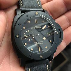 #Panerai #PAM508 Luminor #Submersible 1950's 47mm Black Ceramic Case Special Edition Automatic Dive Watch PAM00508 For Sale at OC Watch Company Watch Store in Walnut Creek CA.