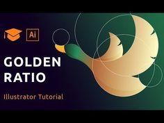 (1) How to design a logo using golden ratio | Adobe Illustrator Tutorial - YouTube