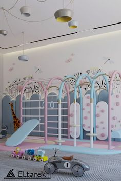 Get inspired by the most Magical Kid's Playroom Design with a Candyland theme.