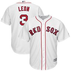 9d83c3d992a Sandy Leon Boston Red Sox Majestic Home Cool Base Replica Player Jersey -  White -  119.99