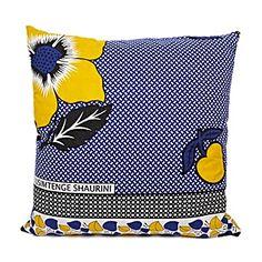 kanga fabric pillows
