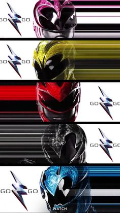 New look at Power Rangers movie costumes Power Rangers 2017, Todos Os Power Rangers, Power Rangers Poster, First Power Rangers, Power Rangers Jungle Fury, Go Go Power Rangers, Power Rangers Pictures, Power Ragers, Trailer Oficial
