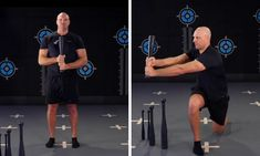 Steel Club Lunges are a unilateral exercise that improves balance and coordination. Lunges, Sporty, Training, Australia, Exercise, Club, Steel, Workout, Education