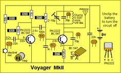 101 - 200 Transistor Circuits Simple Circuit, Dc Circuit, Circuit Diagram, Electronic Circuit Projects, Electronic Engineering, Hobby Electronics, Electronics Projects, Home Theater Amplifier, Metal Detector