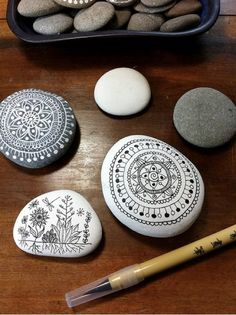 how to use the multitudinous pebbles i collect