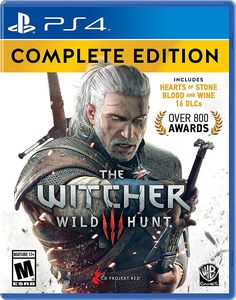 Amazon.com: Witcher 3: Wild Hunt Complete Edition - PlayStation 4 Complete Edition: Video Games