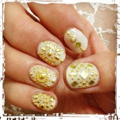 spring summer metallic nails -Inspired Nails - Sign up for the @NailArtSociety for $9.95/mo. We will curate n deliver the latest tools,polishes accessories for u to try out the newest nail art trends at home!