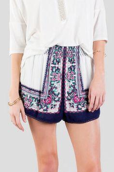 Nayeli Printed Shorts